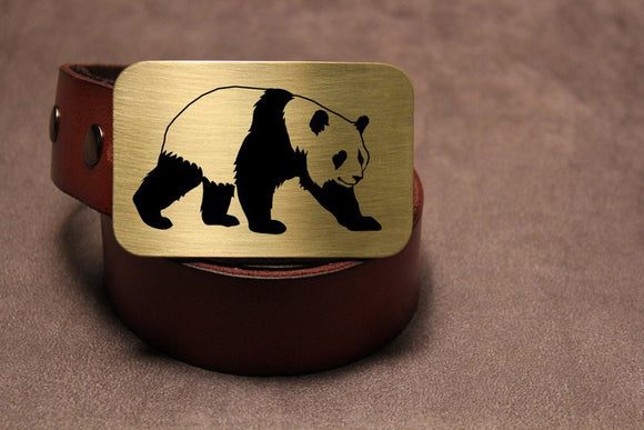 Panda Belt Buckle-Metal Some Art