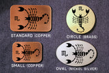 Scorpio -ZODIAC / ASTROLOGY Belt Buckle-Metal Some Art