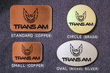 Trans Am PONTIAC FIREBIRD Belt Buckle-Metal Some Art