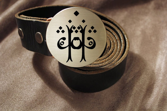 Lord of the Rings TWO TREES OF VALINOR Elvish Belt Buckle-Metal Some Art