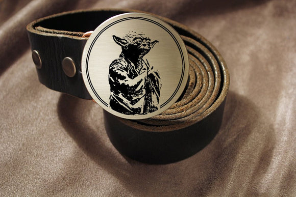 Yoda STAR WARS Belt Buckle-Metal Some Art