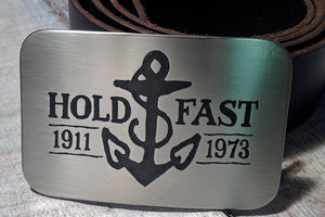 Hold Fast Anchor Belt Buckle - SAILOR JERRY-Metal Some Art