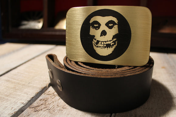 Misfits Belt Buckle-Metal Some Art