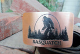 Sasquatch BIGFOOT Belt Buckle-Metal Some Art