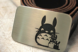 Totoro Belt Buckle-Metal Some Art