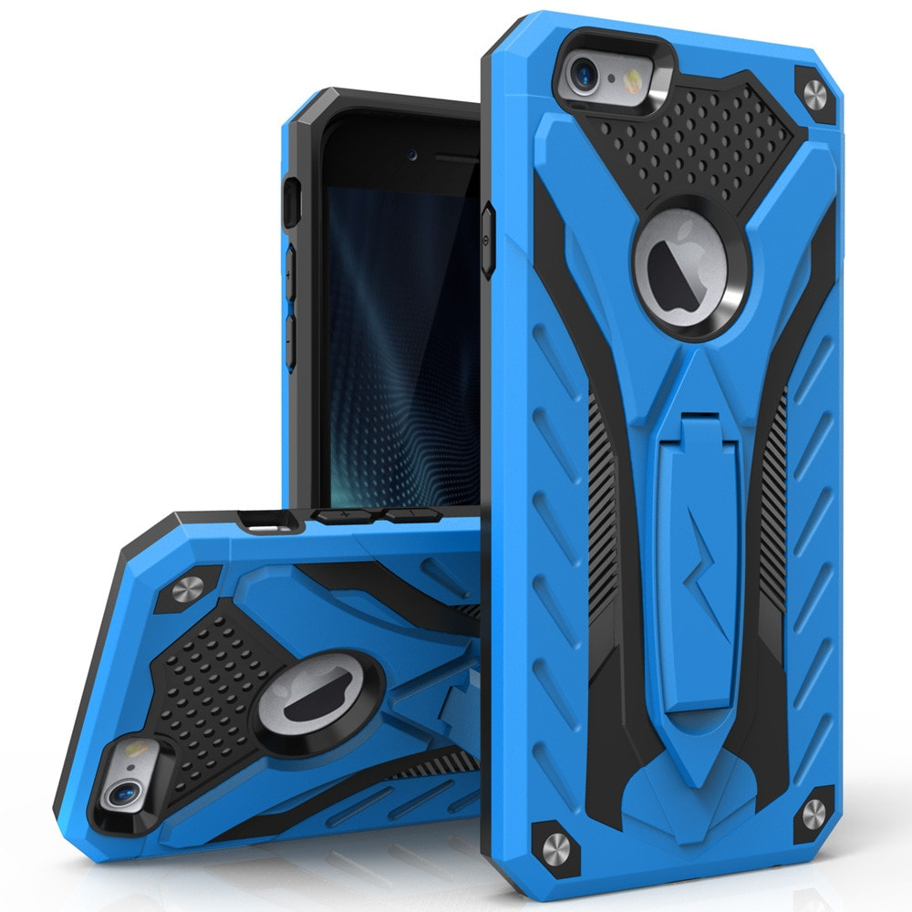 Zizo Static Case for iPhone 6/6s Military Grade Drop Tested + Built in Kickstand