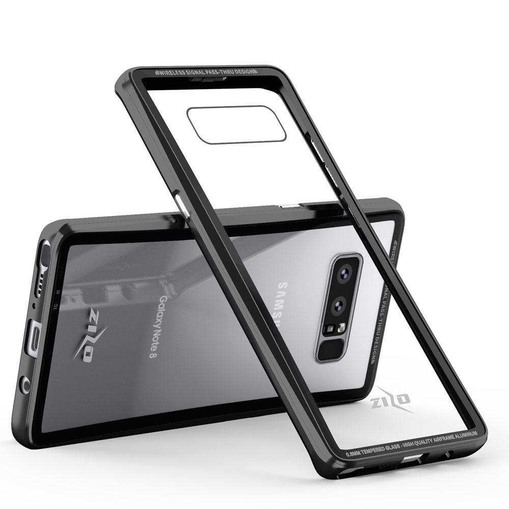Zizo® Atom Case for Samsung Galaxy Note 8 - Tempered Glass Screen