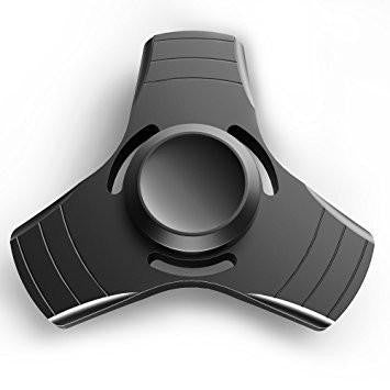Anxiety and Stress Reducer  Ametallic fidget spinner is the perfect way to ease your anxiety while keeping your hands busy. With a modern design, this fidget spinner is stronger and more durable than ever! Unlike your other spinners, this product contains a solid bearing to grab while you spin the edges smoothly. The solid bearing also allows for a spin time of up to 3 minutes! Flick and spin for hours to eliminate stress and anxiety. This easy to carry fidget toy can discreetly fit in your pocket or purse. Ease your boredom and keep your hands busy! Strong and Durable Modern Design Flick and Spin for Hours Comes in a variety of metallic colors Discreetly Fits in Compact Places split Designed to Reduce Stress and Anxiety- ROW Compact Modern DesignThis Bat Shaped Fidget Spinner is stronger and more durable than ever! This easy to carry fidget toy can discreetly fit in your pocket or purse. First Image - END ROW  - ROW  Second Image Fast Rotating Tri-SpinnerHold the bearing and spin the