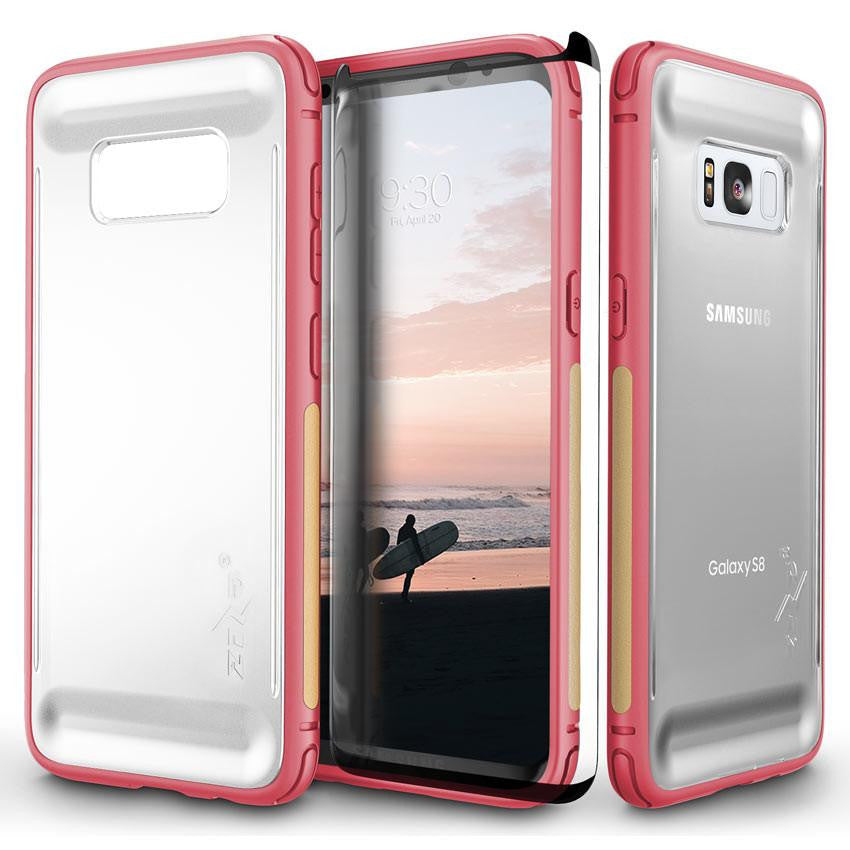 zizo flux series for samsung galaxy s8 w screen protector. Black Bedroom Furniture Sets. Home Design Ideas