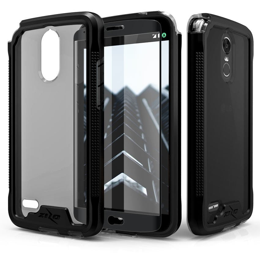 Zizo ION Case for LG Stylo 3, Military Grade Drop Tested + 0.33 9H Tempered Glass Screen Protector