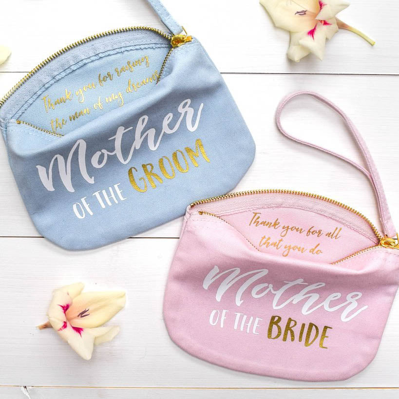 Mother of the Bride and Groom Make Up Bags