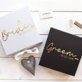 Bride and Groom Gift Boxes