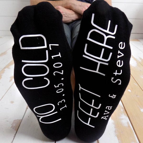 No Cold Feet Here Socks