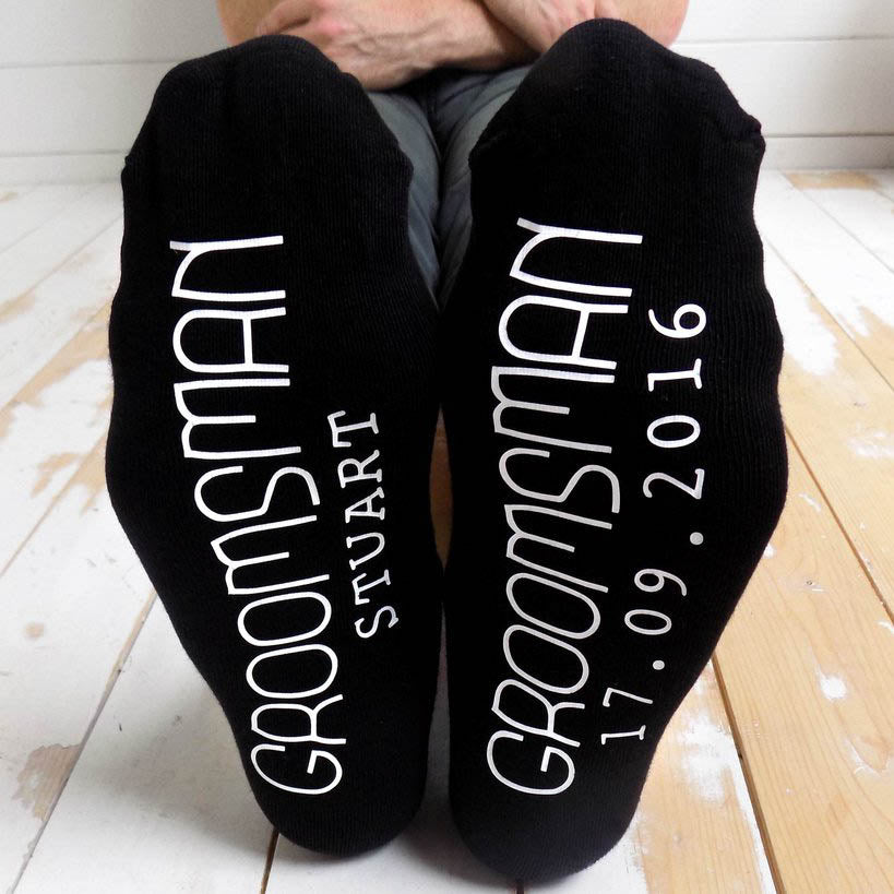 Men's Wedding Role Socks