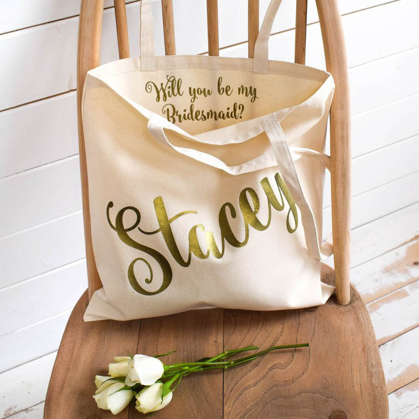 Will you be my Bridesmaid Gift Tote Bag