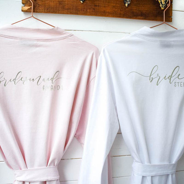 Personalised Robes - Wedding Dressing Gowns