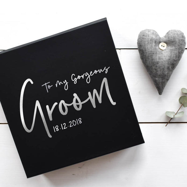 To my Gorgeous Groom Gift Box