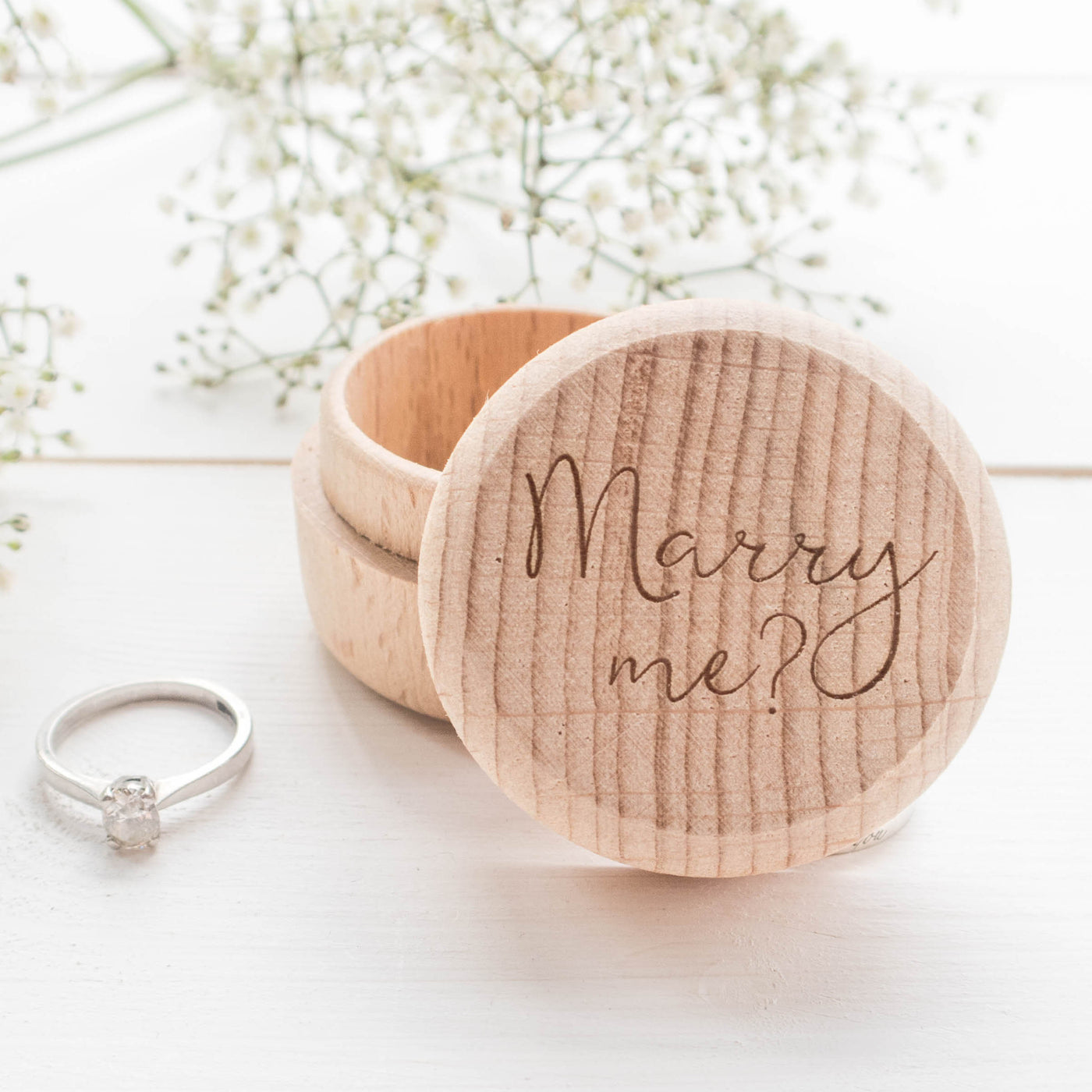 Marry Me? Ring Box