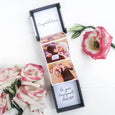 Congratulations on your engagement Photo Gift Box