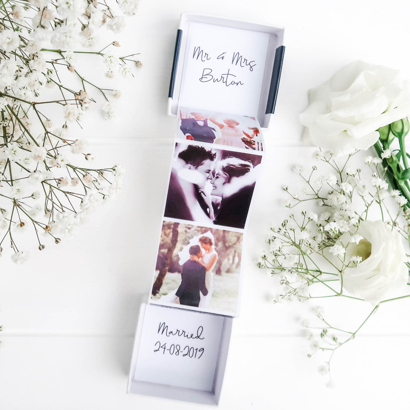Wedding Photo Gift Box