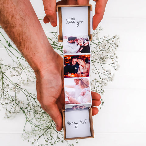 Will you Marry me? Photo Gift Box