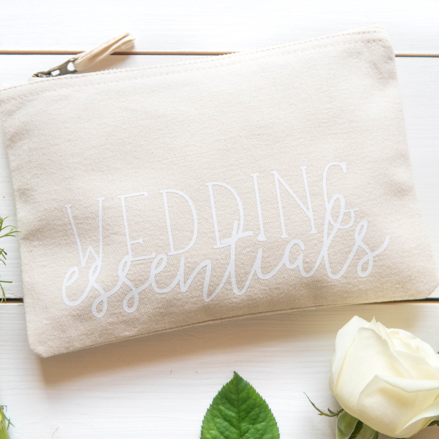 Wedding Essentials Make Up Bag