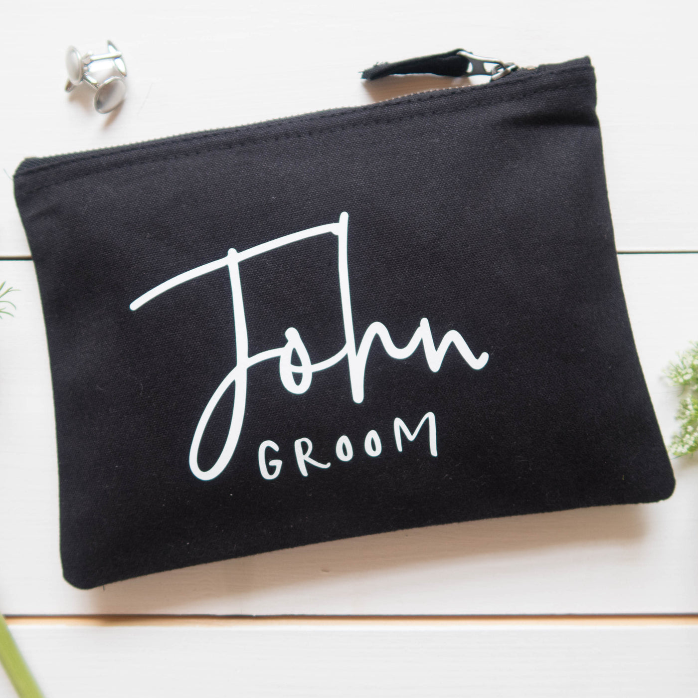 Groom Wedding Wash Bag