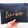 Personalised Name Makeup Bag