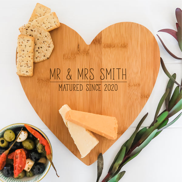 Personalised Matured Cheese Board
