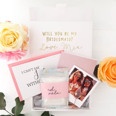 Bridesmaid Proposal Gift Pre-filled Box