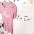 Bridesmaid Gift - Personalised T-Shirts