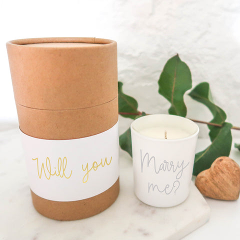 Proposal Candle Gift