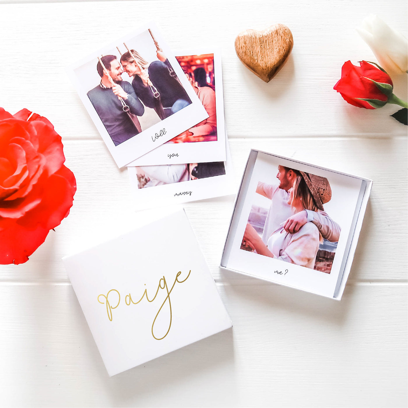 Marry Me Matchbox Photo Gift