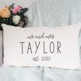 Personalised Mr and Mrs Est. Cushion