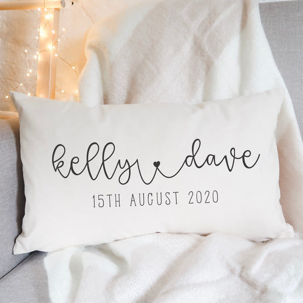 Personalised Couple Cushion