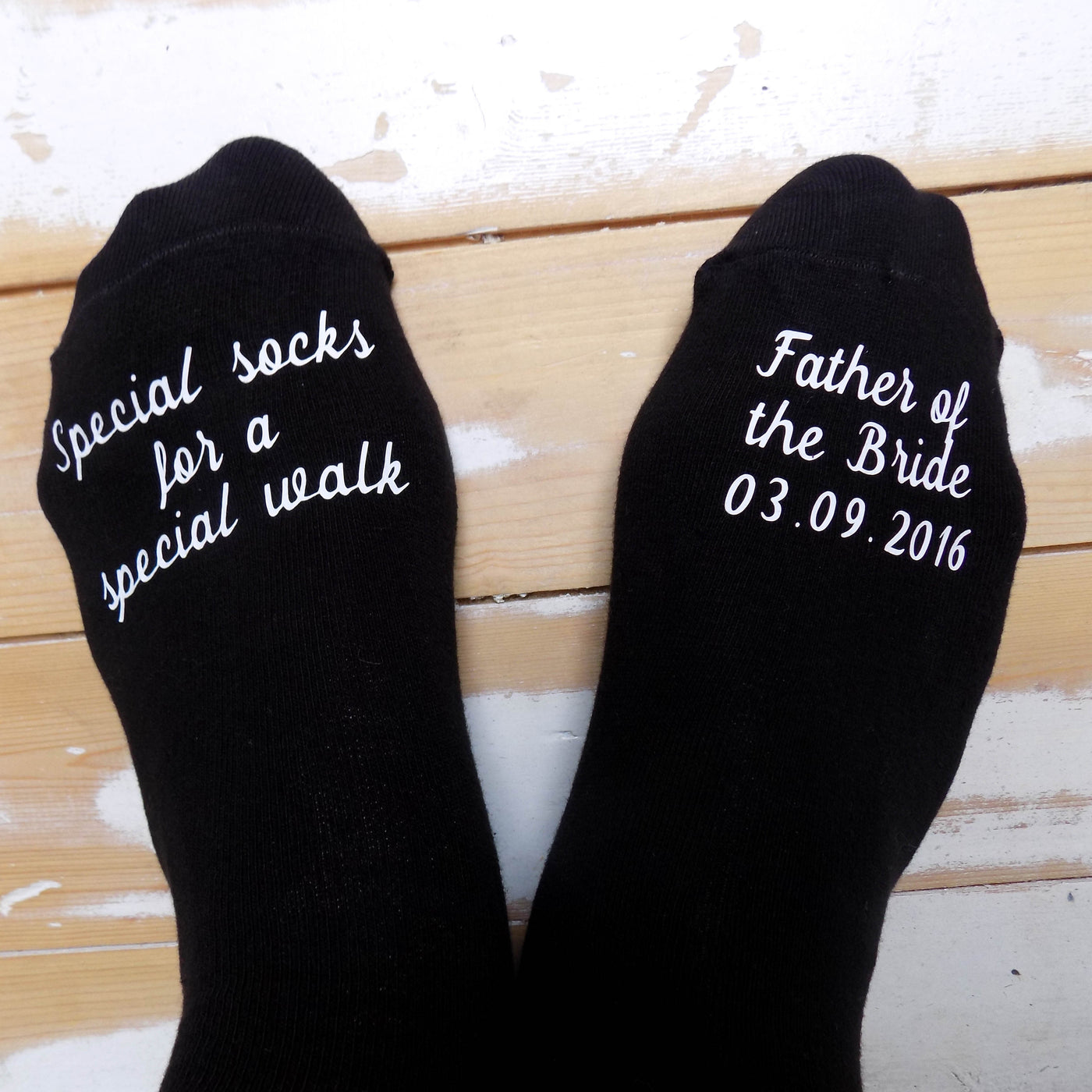 Father of the Bride Socks - Special Walk