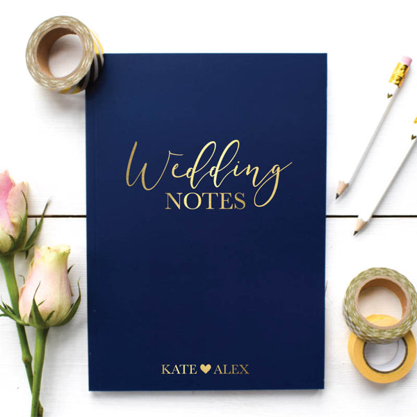 Wedding Notes Notebook