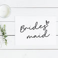 Wedding Role Notecard