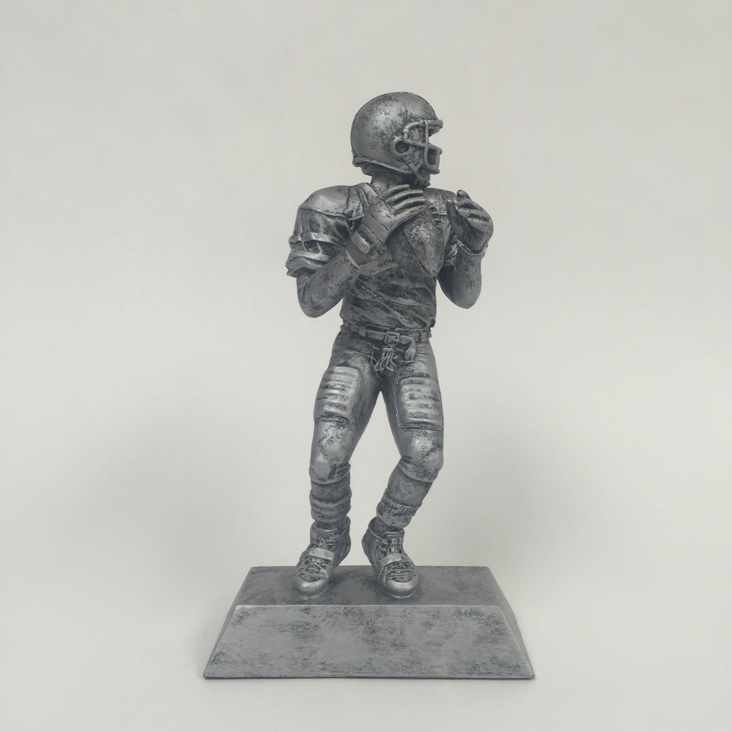 Resin Football Quarterback 50501