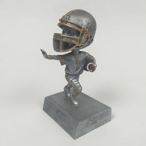 """Rock'n Bop"" Bobblehead Football Resin 59500GS"