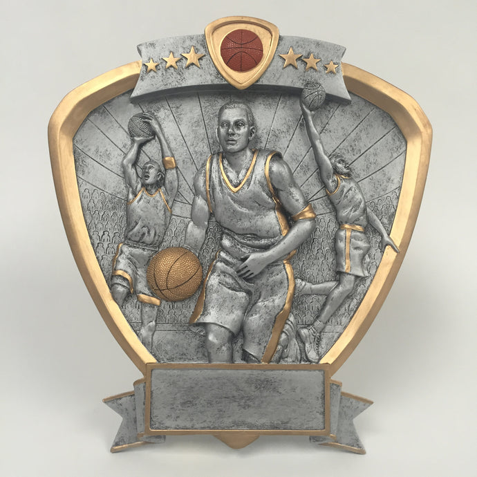 Shield Basketball Resin Male 58505GS