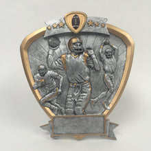 Shield Football Resin 58500GS