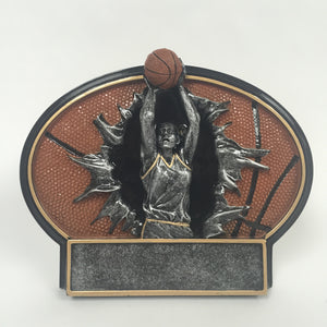 Bust Thru Basketball Female Resin BT758