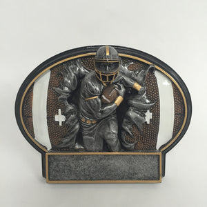 Burst Thru Football Resin BT759
