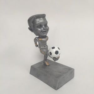"""Rock n Bop"" Soccer Bobblehead Resin Male 59515GS"