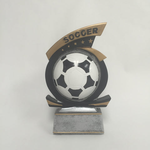 Gold Star Soccer Resin 81815GS