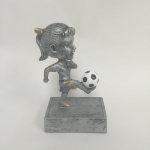 """Rock n Bop"" Soccer Bobblehead Female 59514GS"