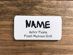 Name Badge (Insert Name)