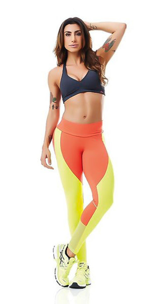 Cajubrasil Orange Legging