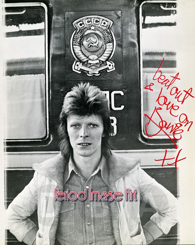 David Bowie Musician Autograph Photo Image DD